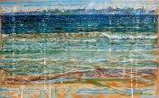 Scarborough 2, 49cm x 30cm, oil & acrylic on canvas, 2015