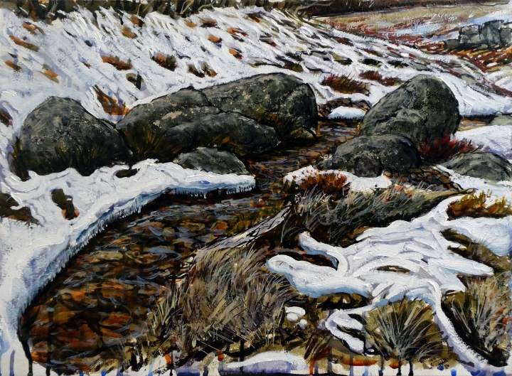 Melting Snow Plein AirReduced