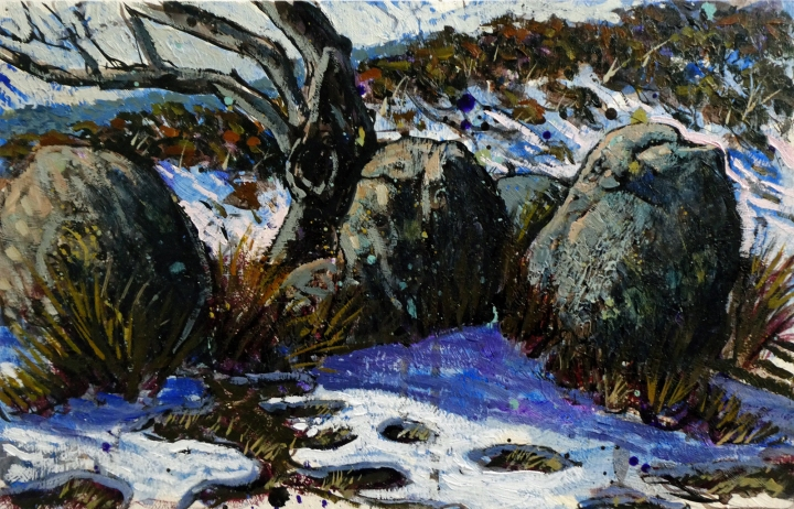 Rocks andSnow Plein AirReduced